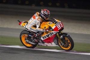 Marc Marquez vincitore del GP del Qatar