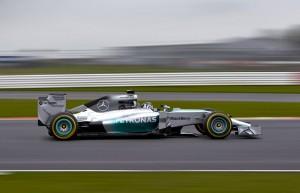 la nuova Mercedes W05