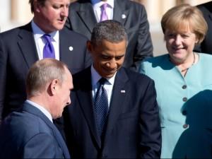 merkel obama putin