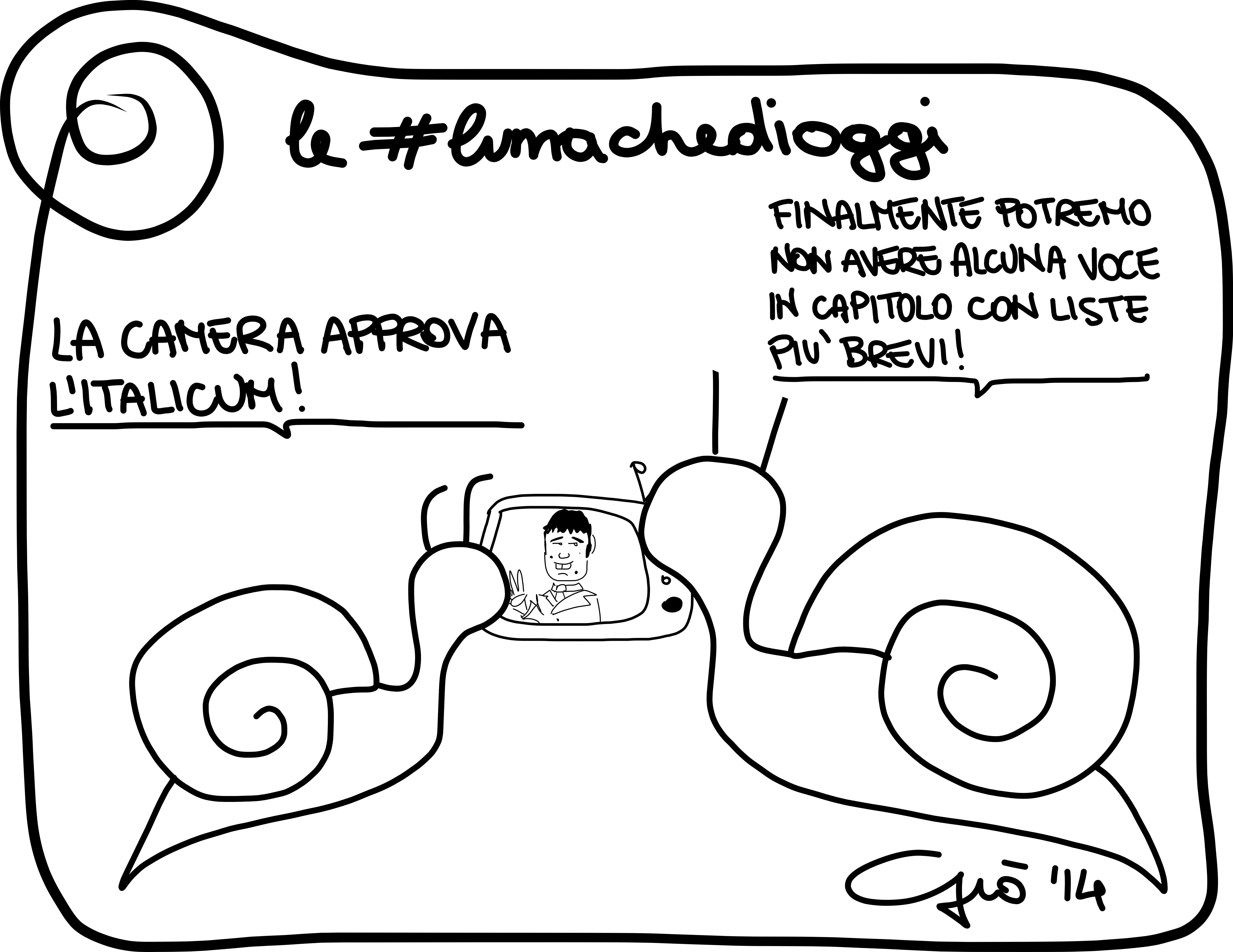 #lumachedioggi di Giovanni Laccetti del 13.3.2014