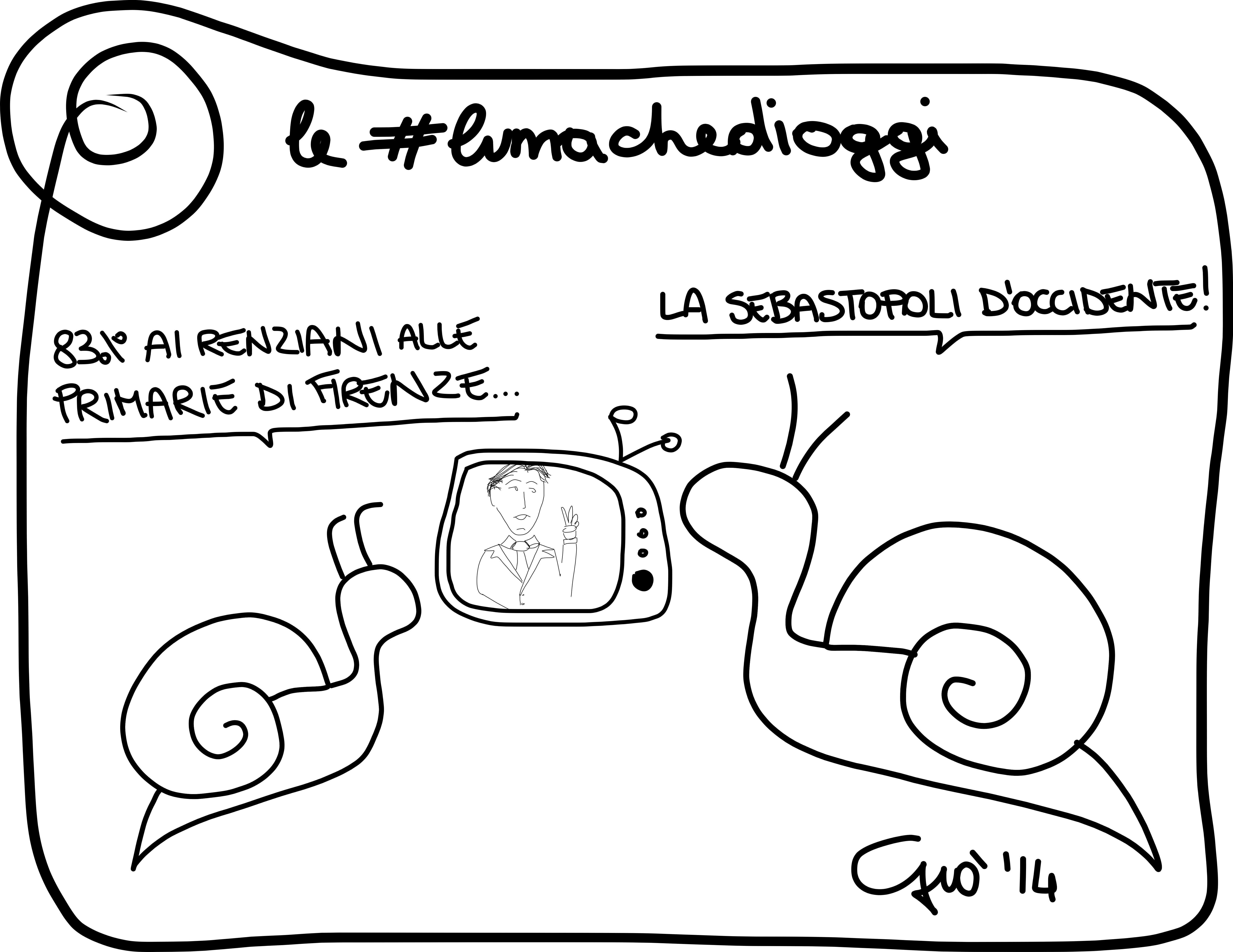 #lumachedioggi di Giovanni Laccetti del 24.3.2014