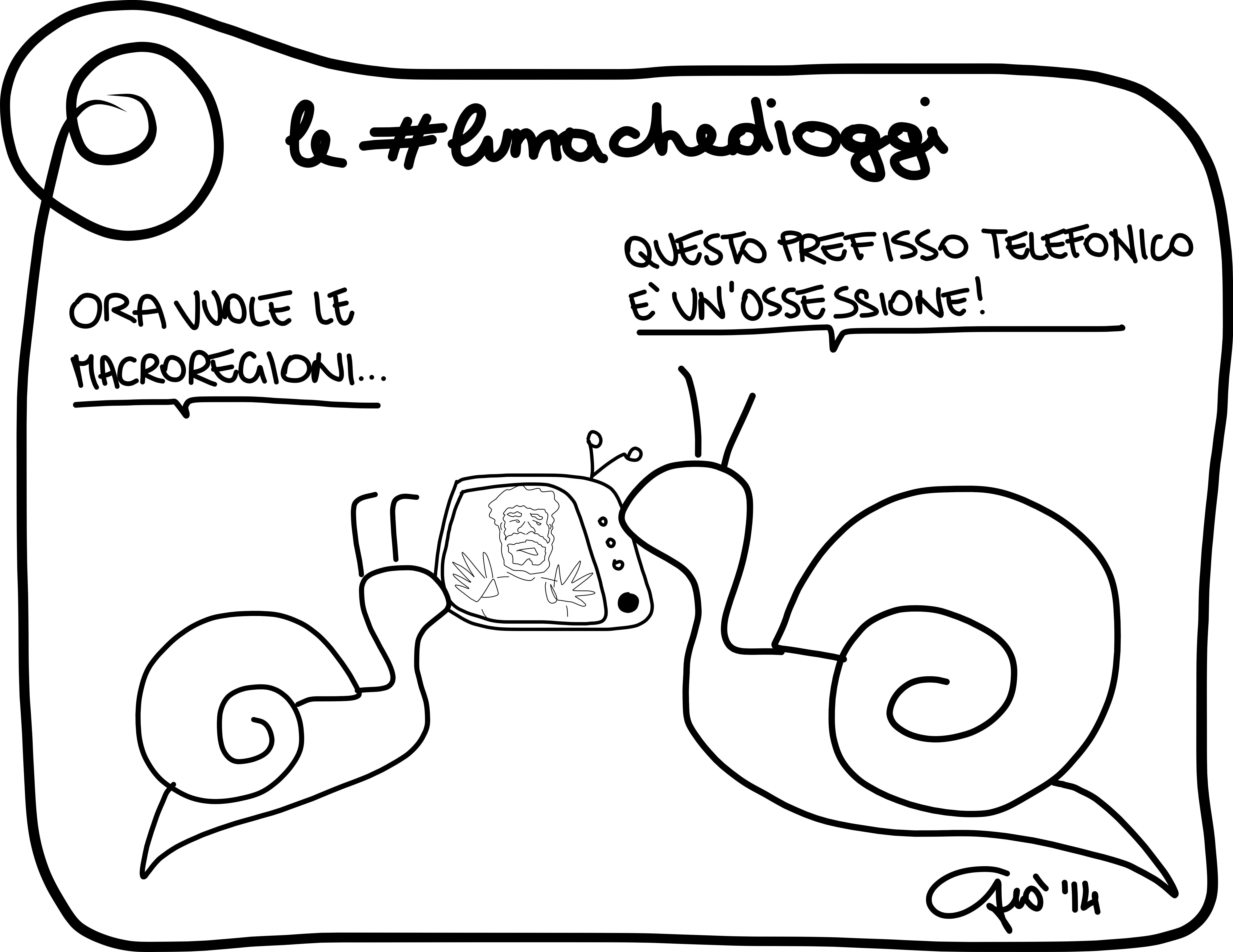 #lumachedioggi di Giovanni Laccetti del 10.3.2014