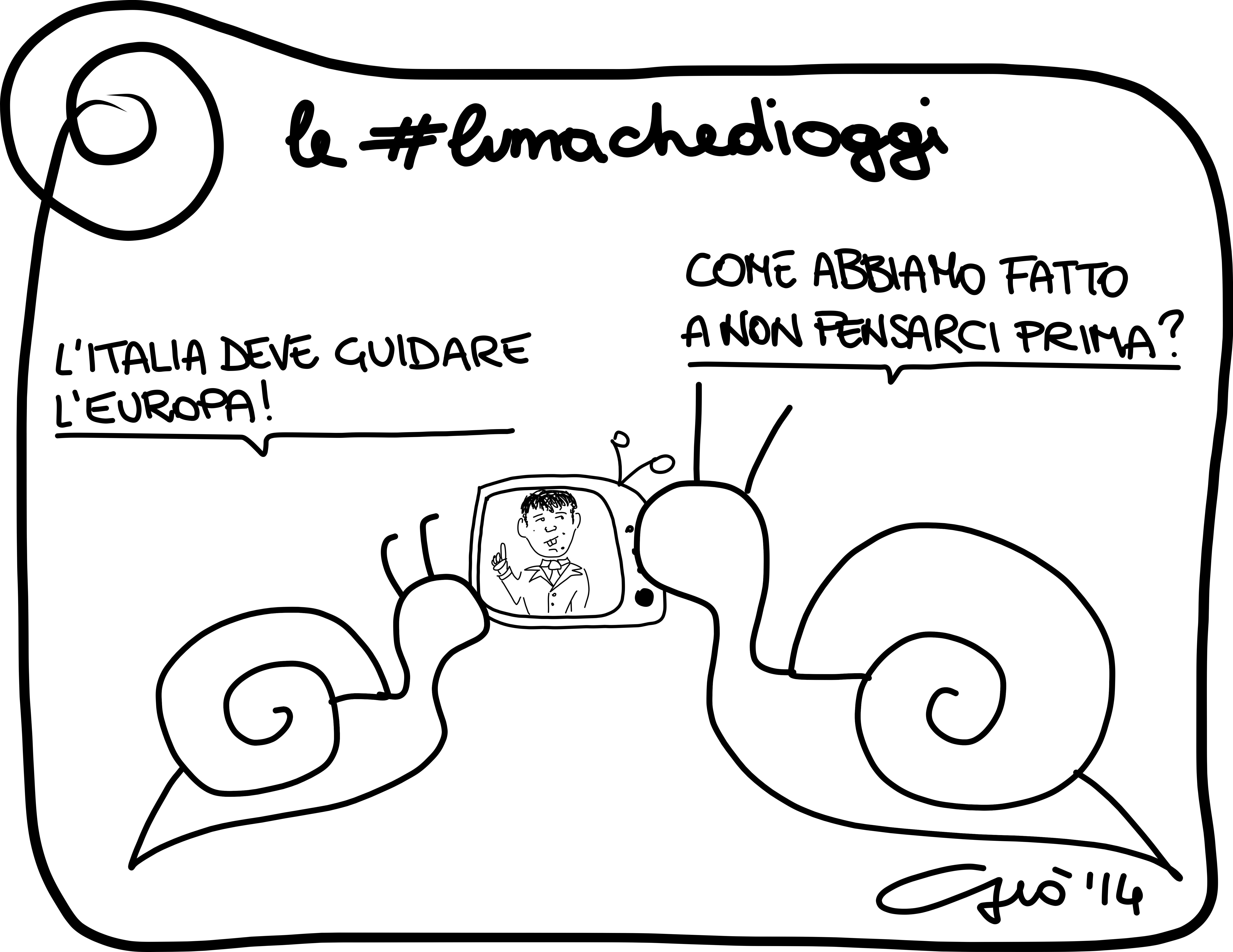 #lumachedioggi di Giovanni Laccetti del 17.3.2014