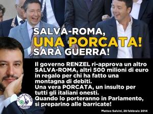 salva roma salvini