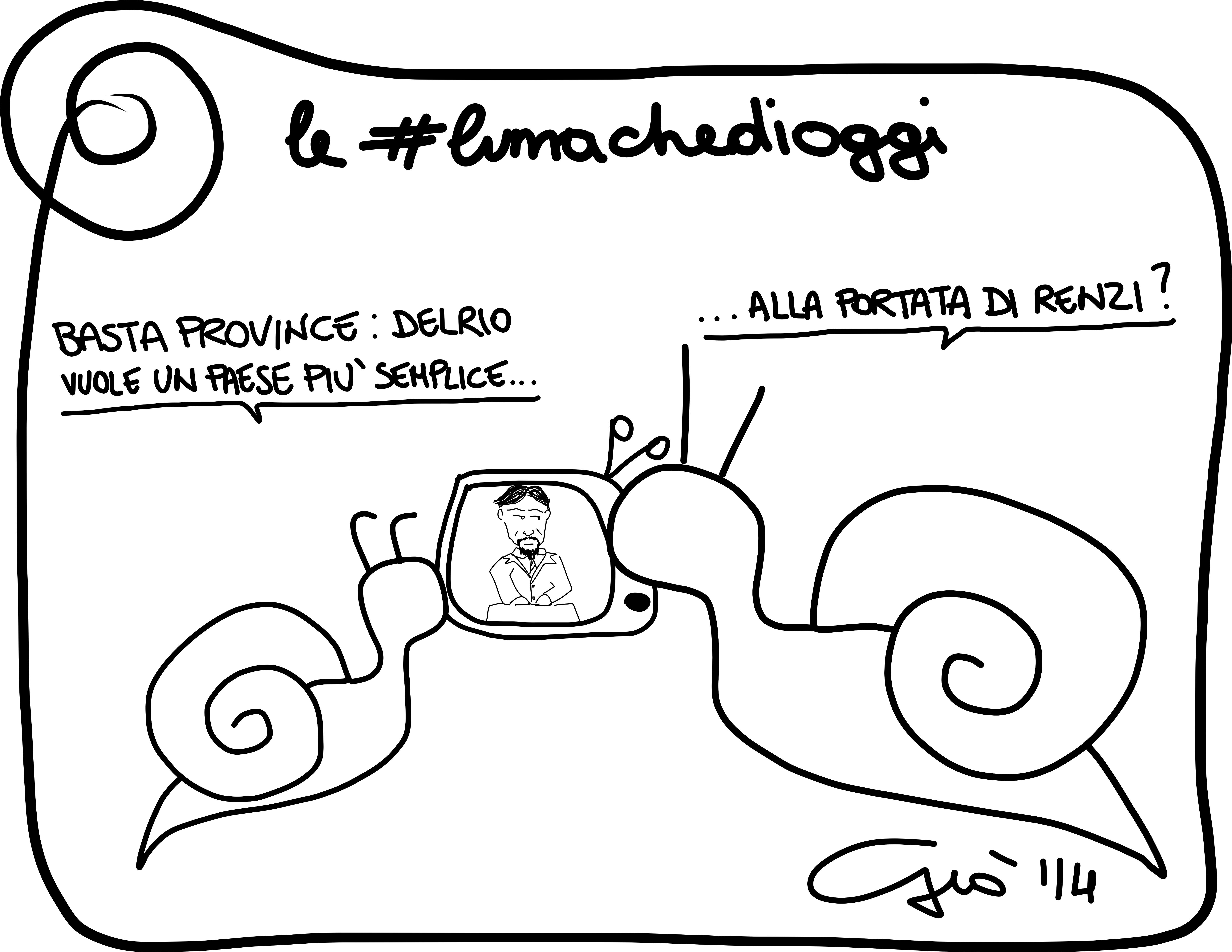 #lumachedioggi di Giovanni Laccetti del 27.3.2014