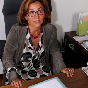 Il sindaco di Arcore, Rosalba Colombo
