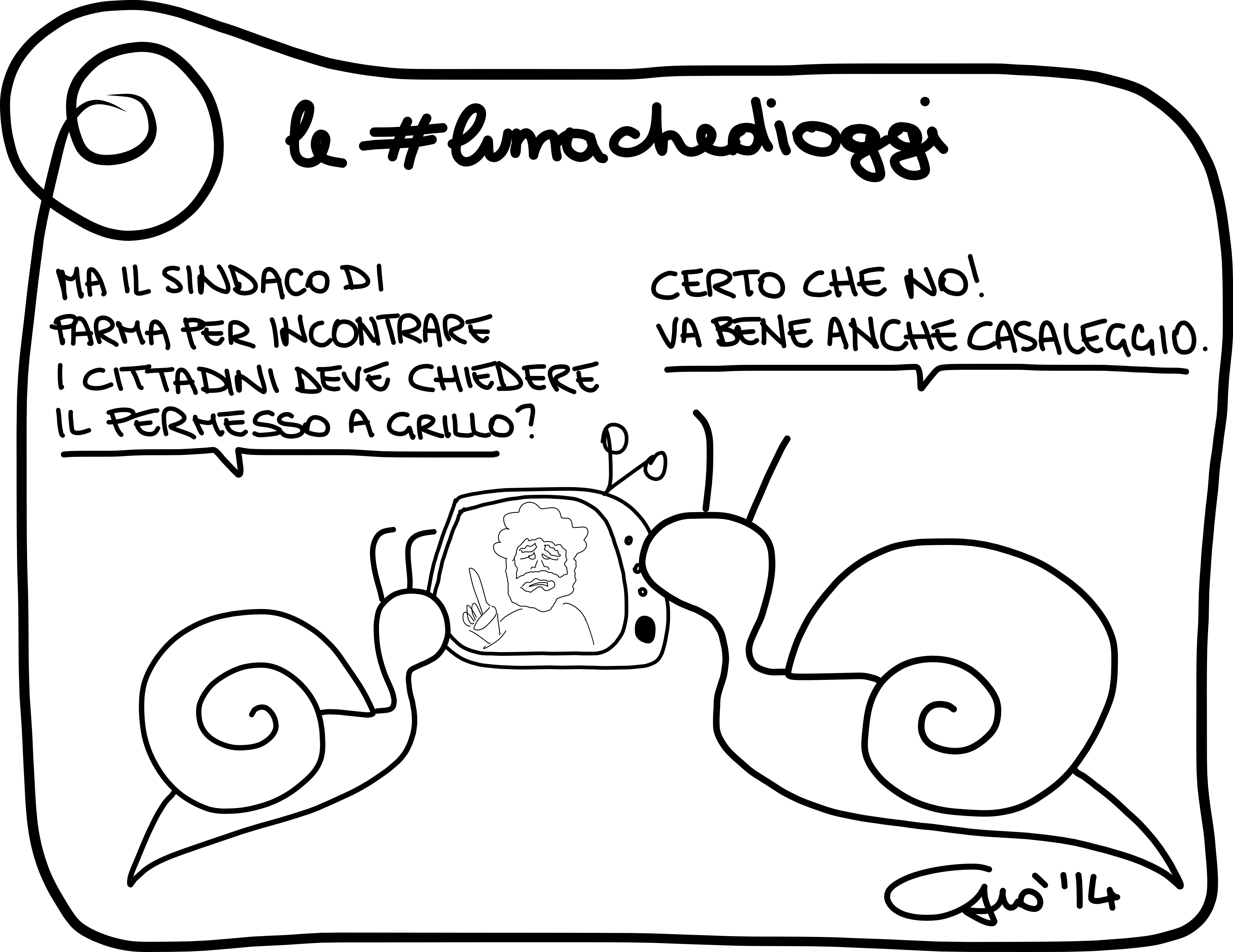 #lumachedioggi di Giovanni Laccetti del 4.3.2014