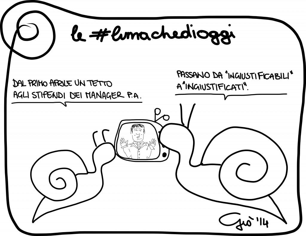 #lumachedioggi di Giovanni Laccetti del 29.3.2014