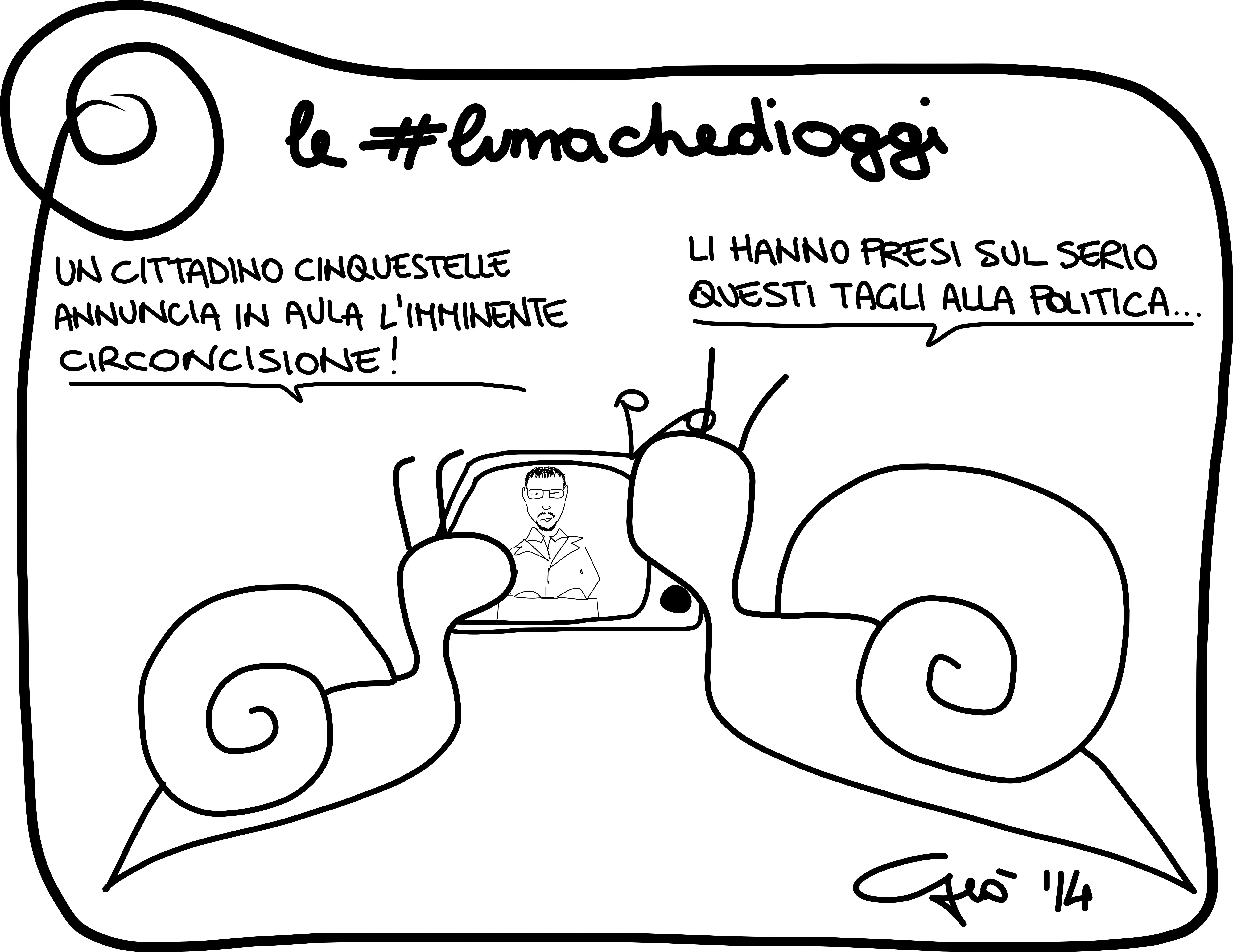#lumachedioggi di Giovanni Laccetti del 26.3.2014
