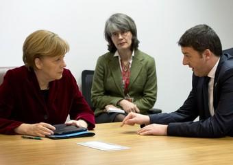 ucraina esordio europeo per renzi