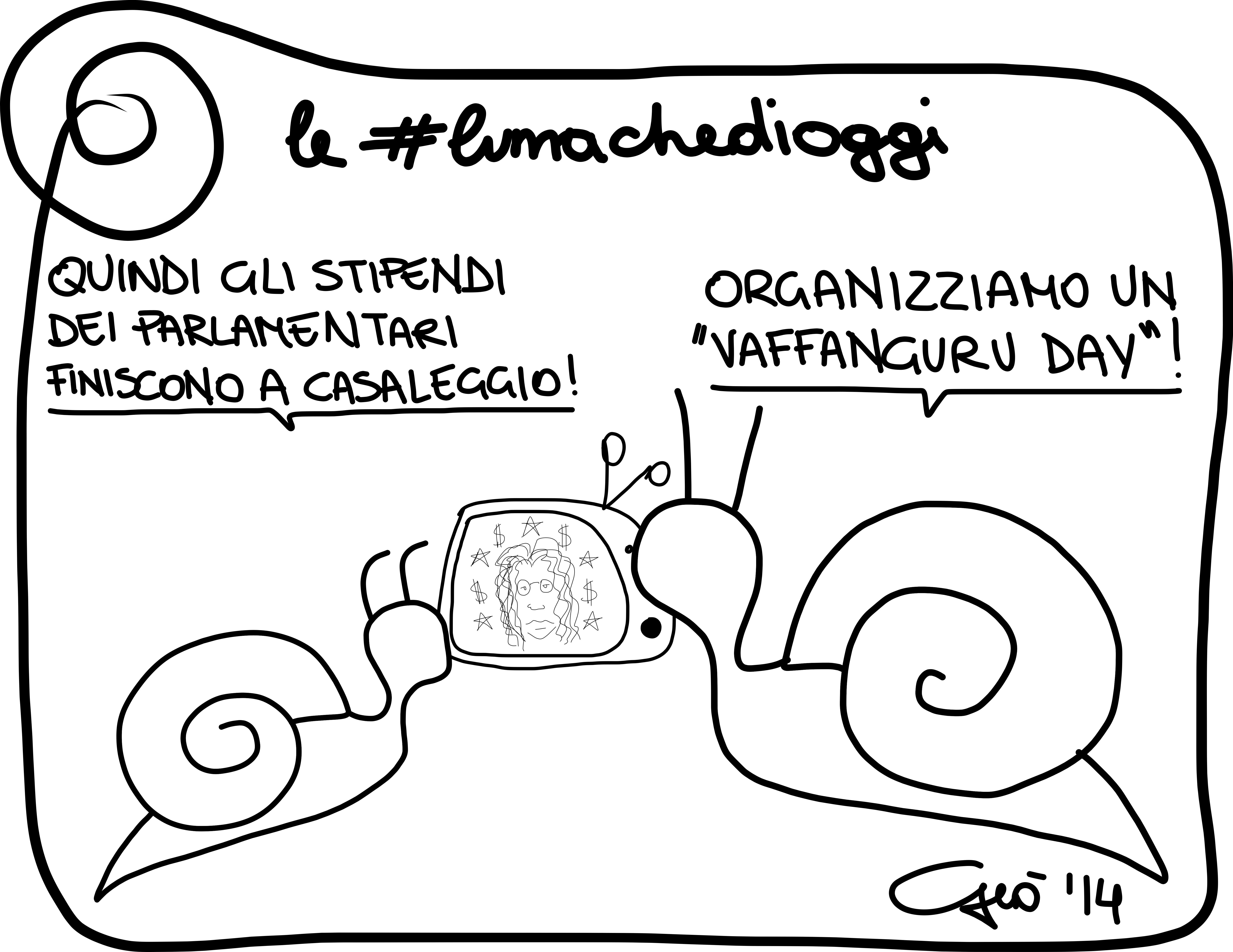#lumachedioggi di Giovanni Laccetti del 3.3.2014