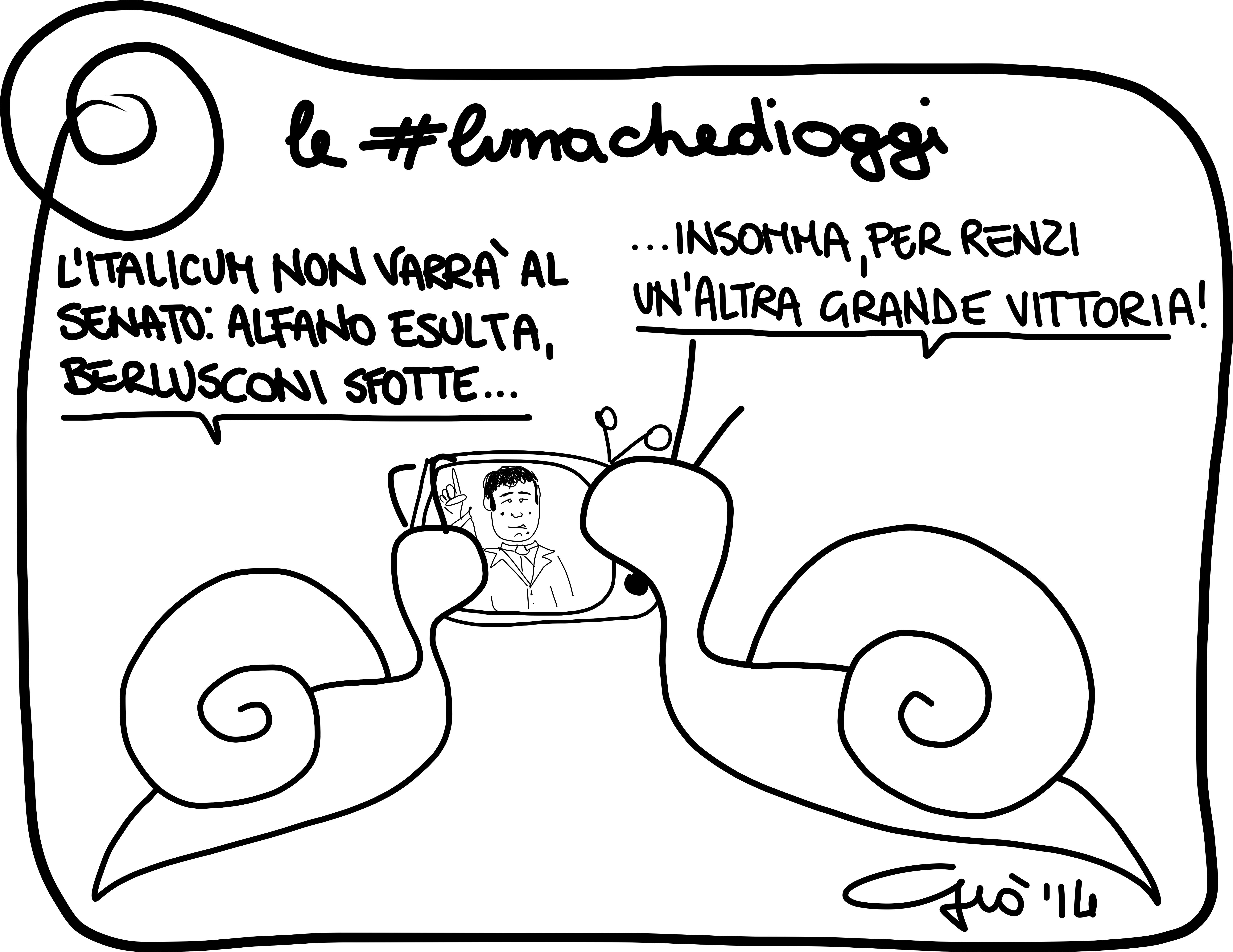 #lumachedioggi di Giovanni Laccetti del 5.3.2014
