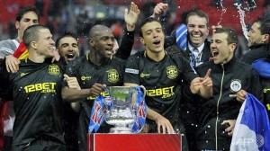 Il Wigan, vincitore dell'ultima edizione della FA Cup
