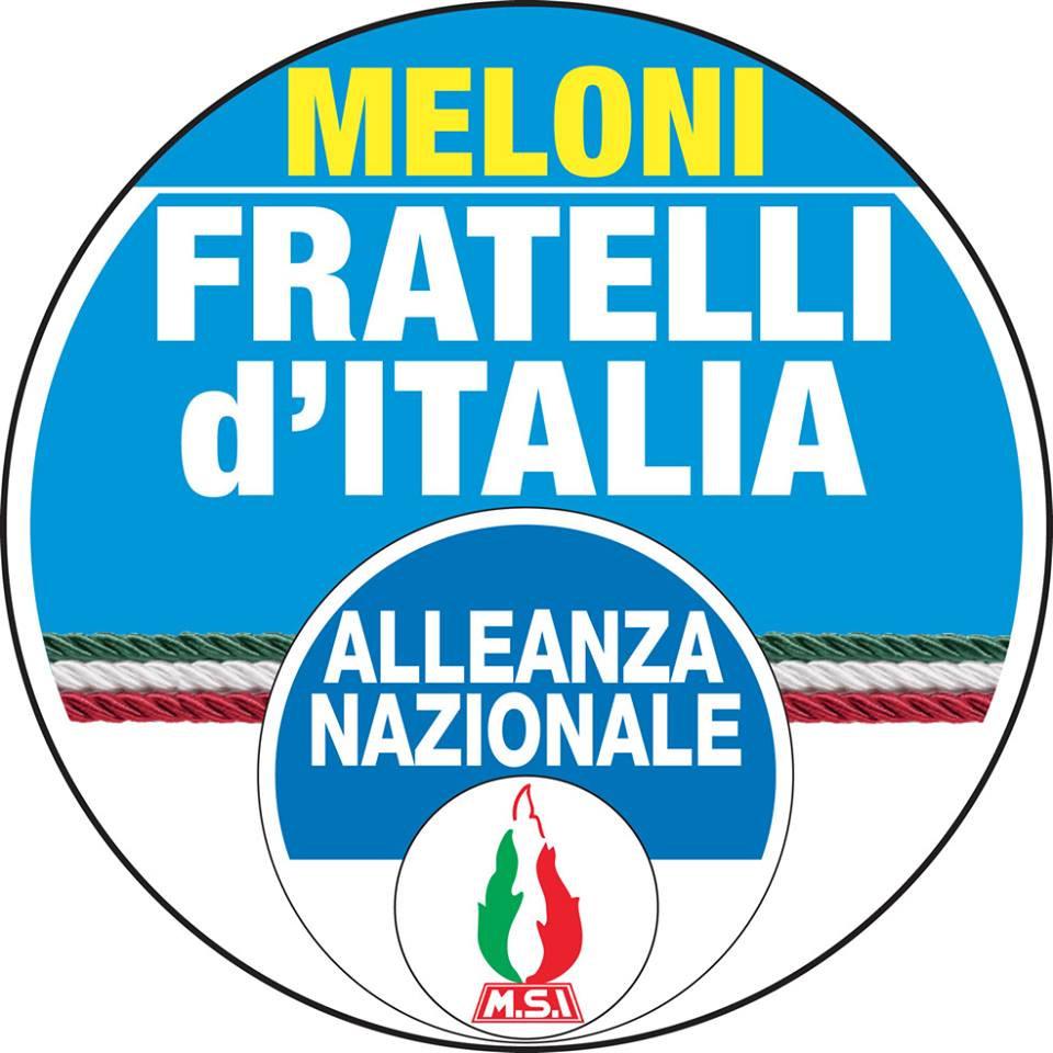 fratelli d'italia alleanza nazionale giorgia meloni