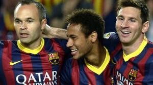 Iniesta-Neymar-Messi