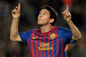 Lionel Messi, al barcellona dal 2003