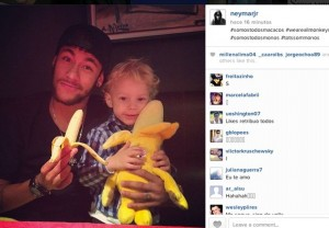 Neymar-bananas