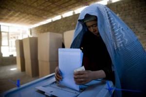 afghanistan voto