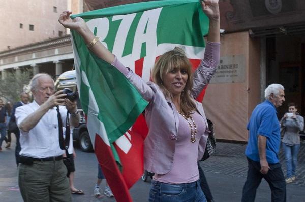 forza italia candida alessandra mussolini