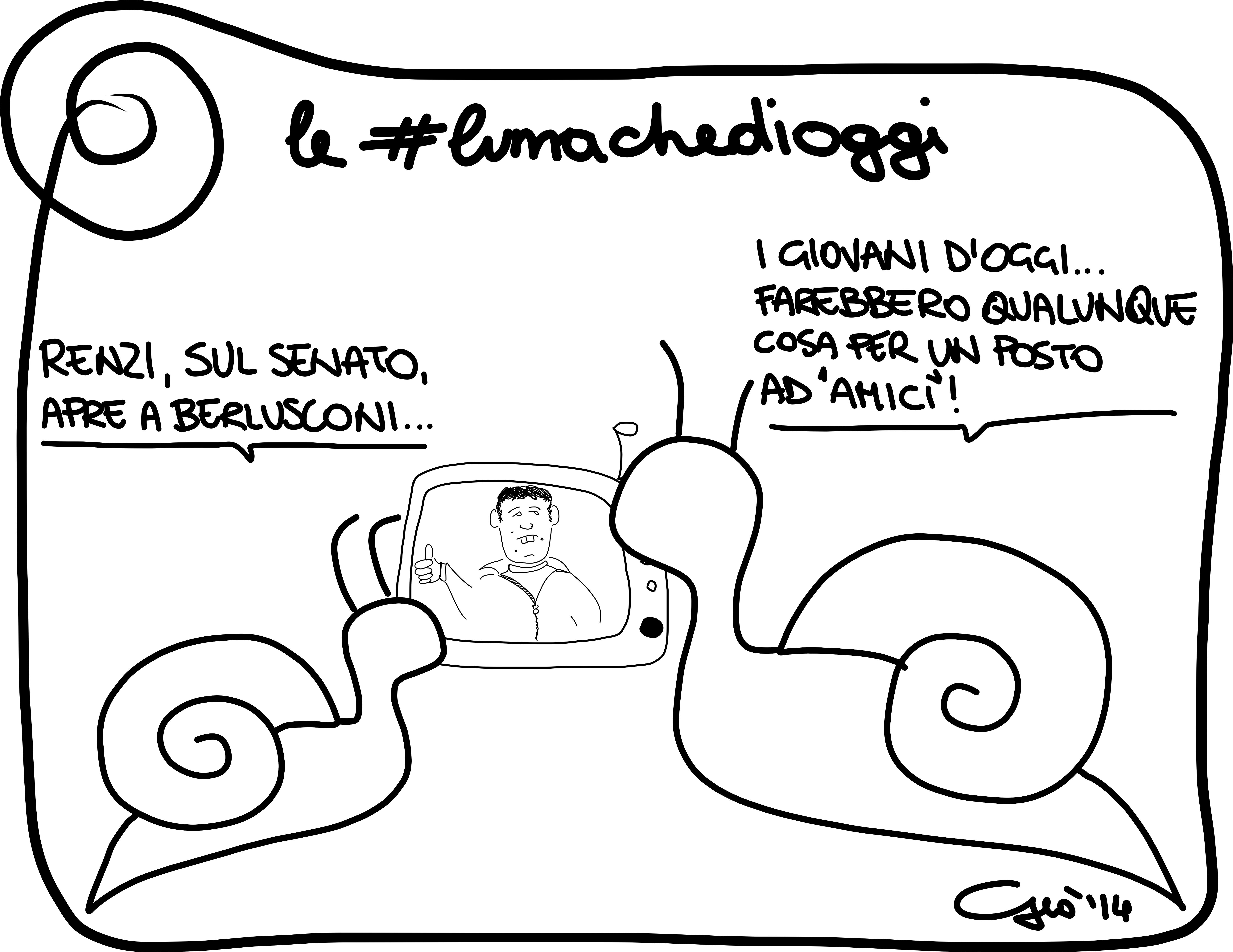 #lumachedioggi di Giovanni Laccetti del 28.04.2014
