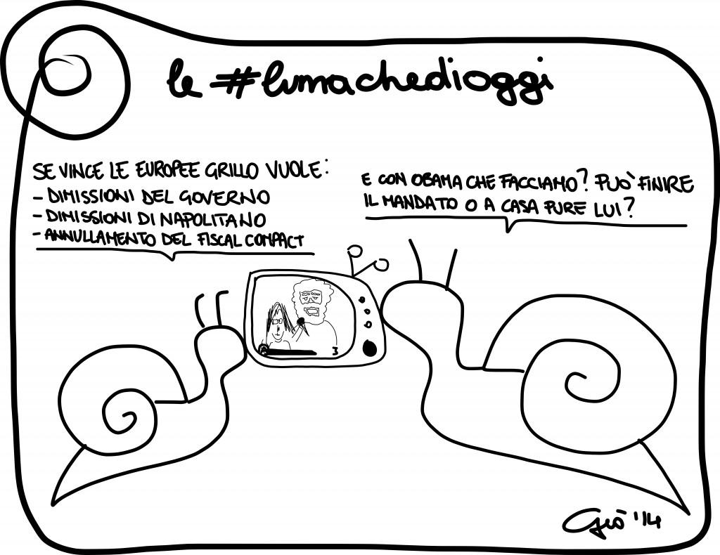#lumachedioggi di Giovanni Laccetti del 29.4.2014