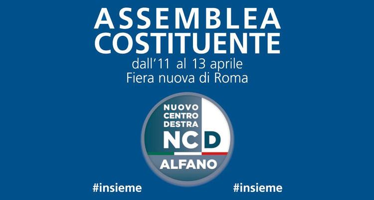 assemblea costituente nuovo centrodestra roma