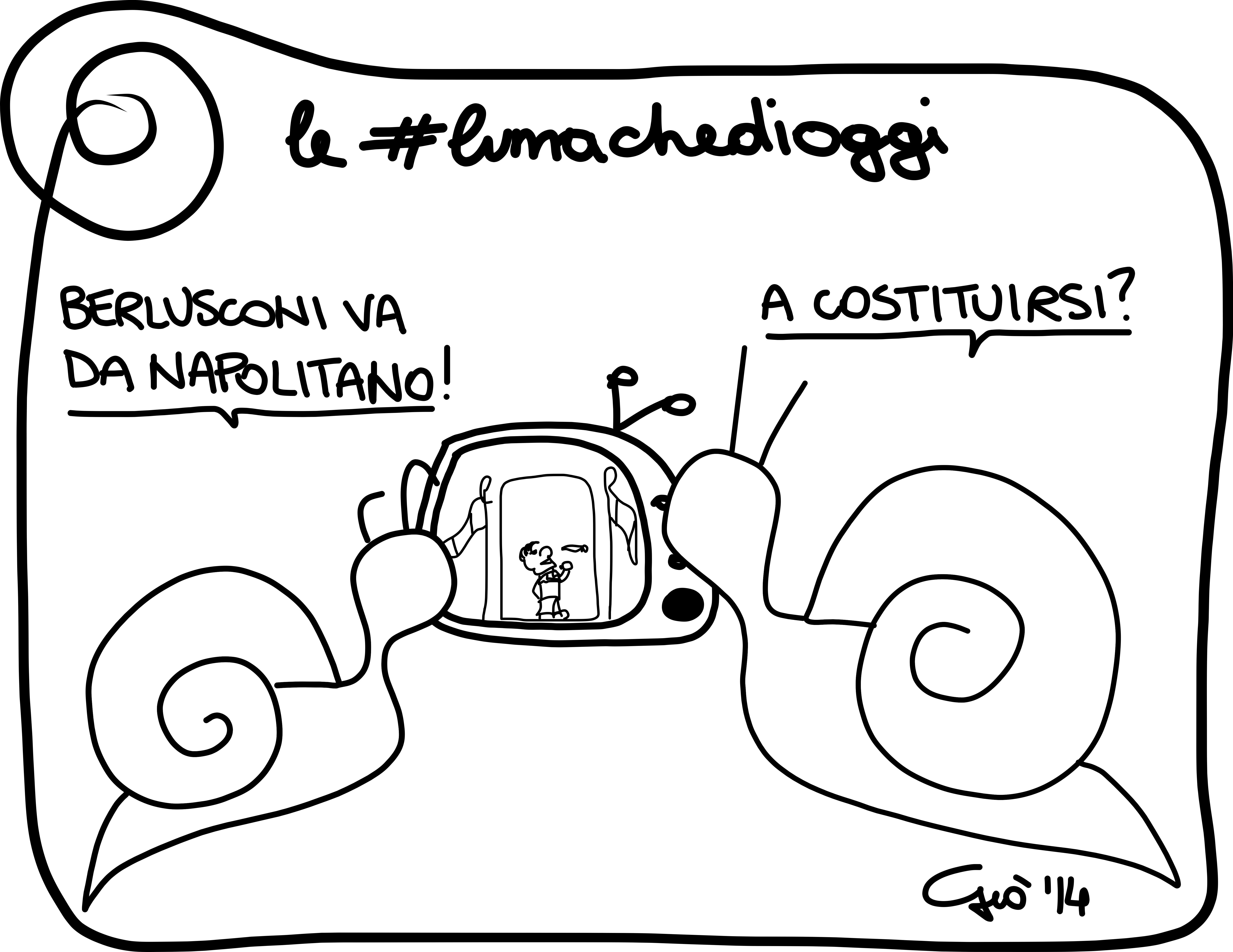 #lumachedioggi di Giovanni Laccetti del 3.4.2014
