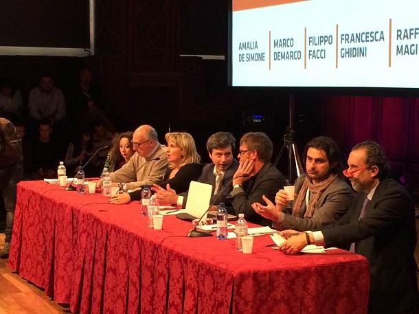 dibattito su terra dei fuochi a festival del giornalismo di perugia