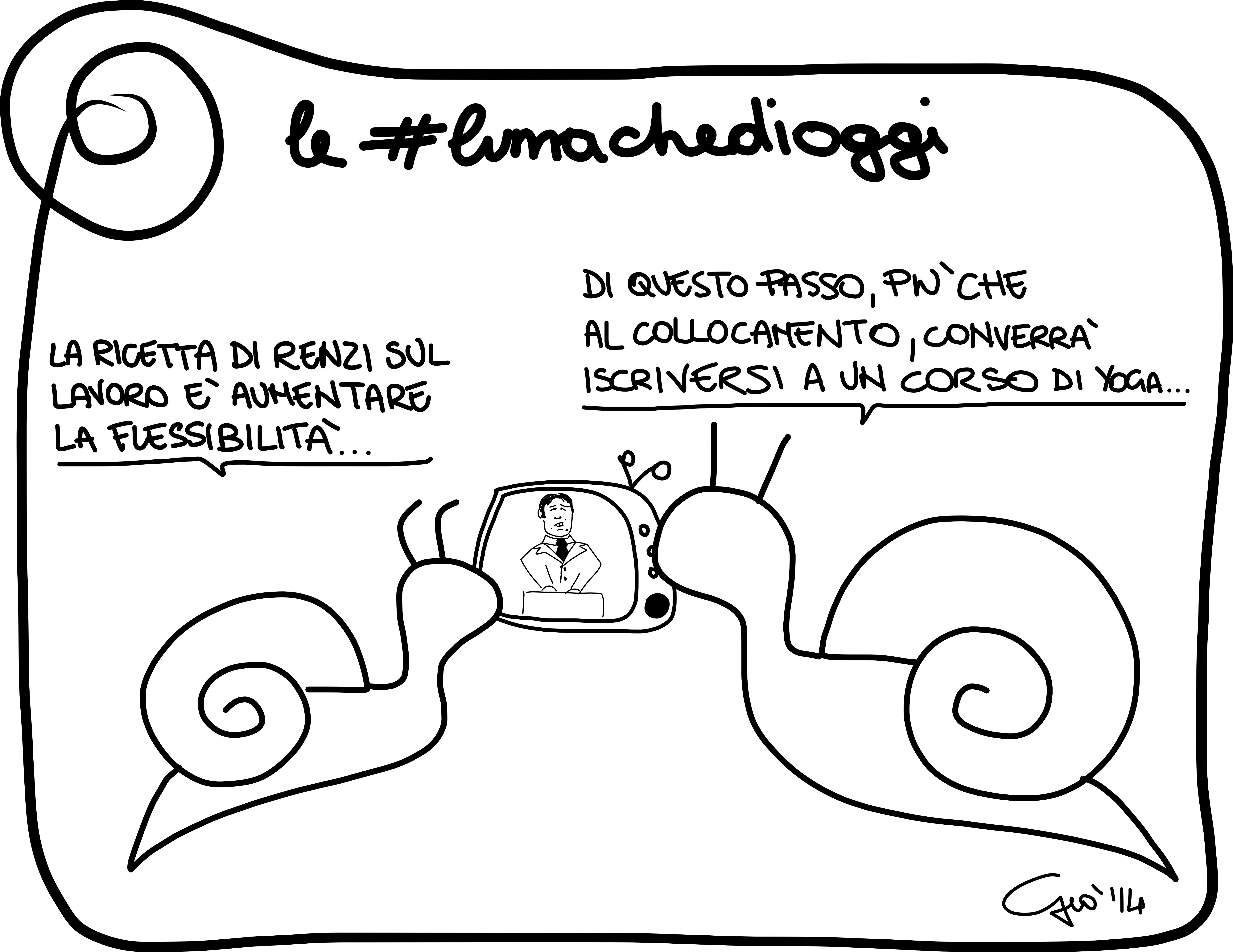 #lumachedioggi di Giovanni Laccetti del 2.4.2014