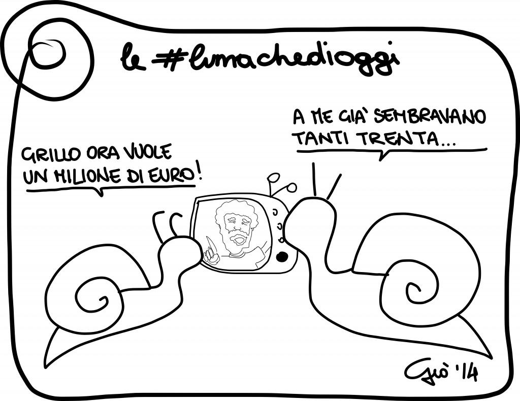 #lumachedioggi di Giovanni Laccetti del 9.4.2014