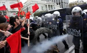 proteste eurogruppo
