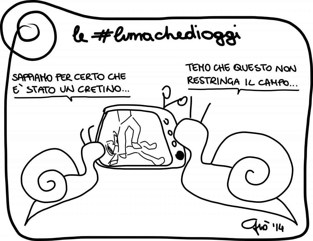 #lumachedioggi di Giovanni Laccetti del 15.4.2014