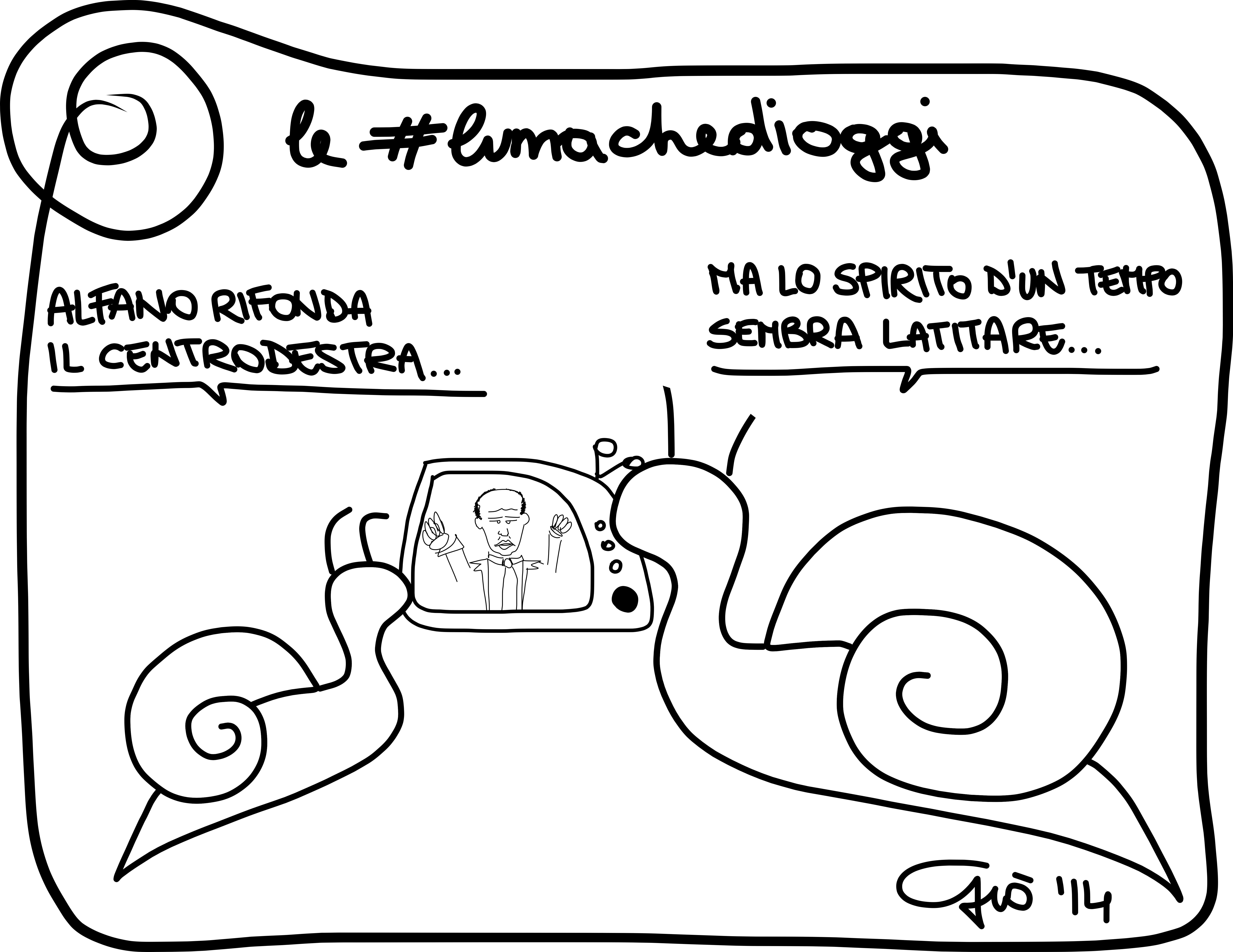 #lumachedioggi di Giovanni Laccetti del 14.4.2014