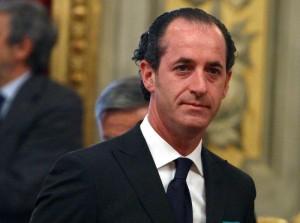 Il Presidente della Regione Veneto, Luca Zaia.