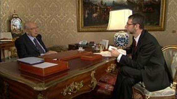 presidente della repubblica giorgio napolitano