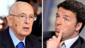 Quirinale e 300 giorni di Governo, Renzi �Napolitano � il politico dell�anno�