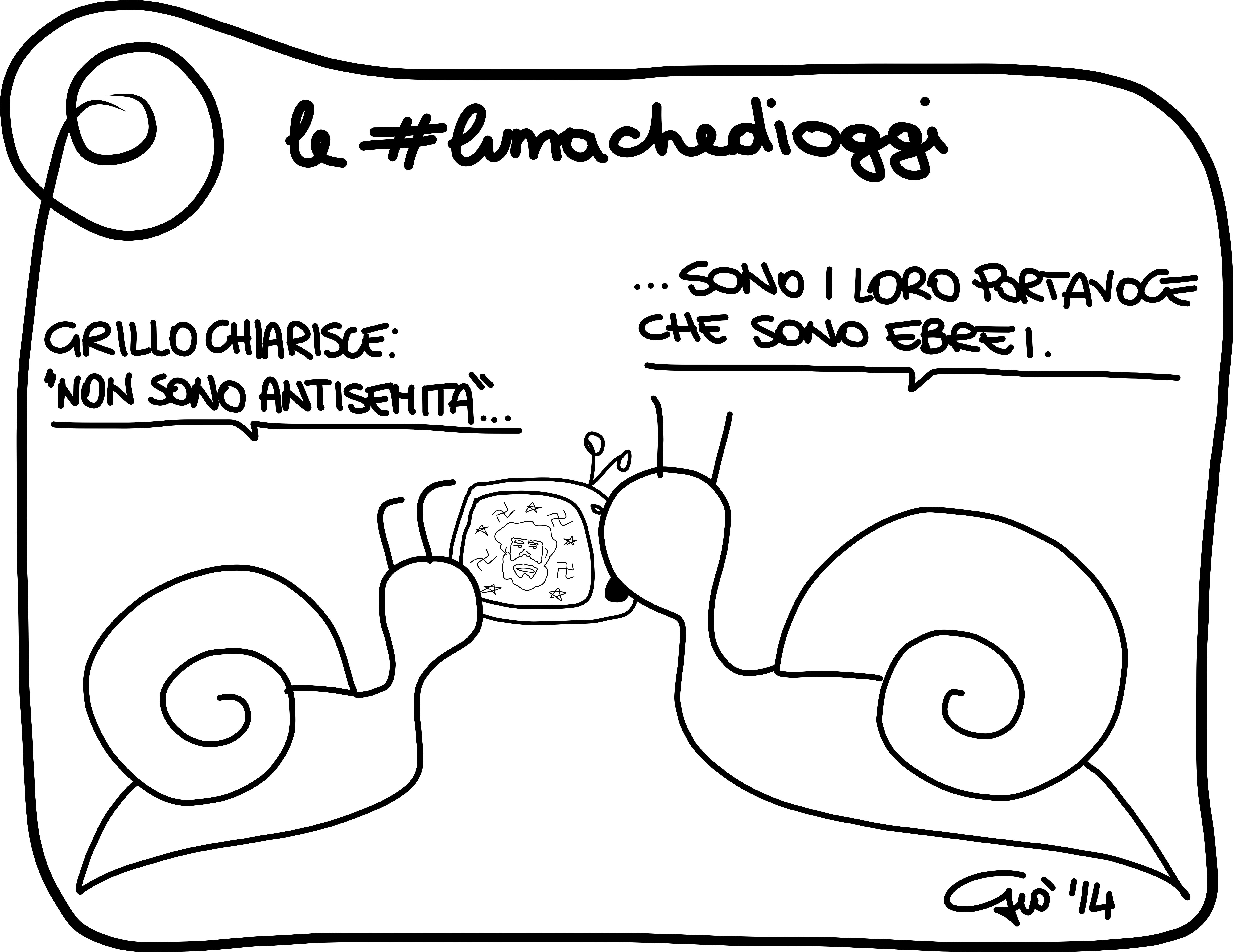 #lumachedioggi di Giovanni Laccetti del 16.4.2014