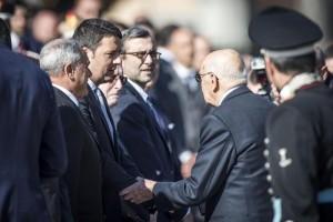 25 Aprile: Napolitano al Vittoriano per cerimonia