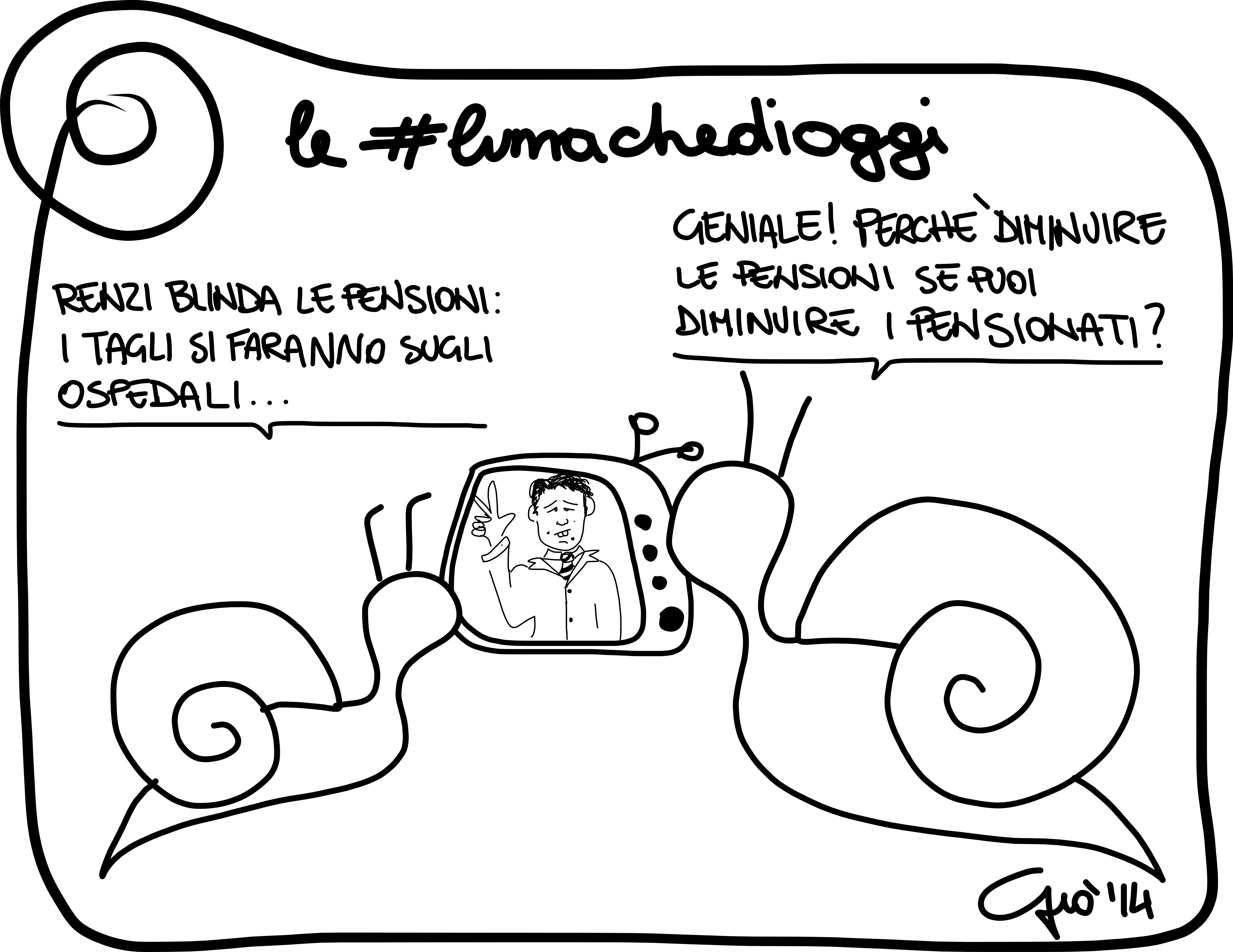 #lumachedioggi di Giovanni Laccetti del 4.4.2014