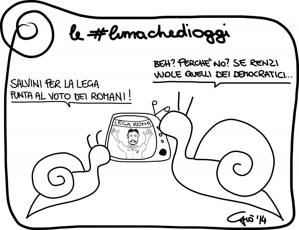 #lumachedioggi di Giovanni Laccetti del 10.4.2014