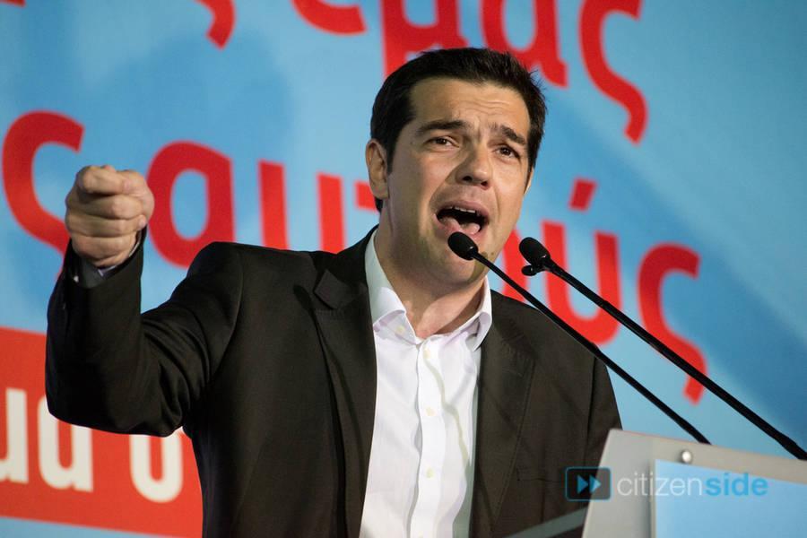 nuova sinistra tsipras