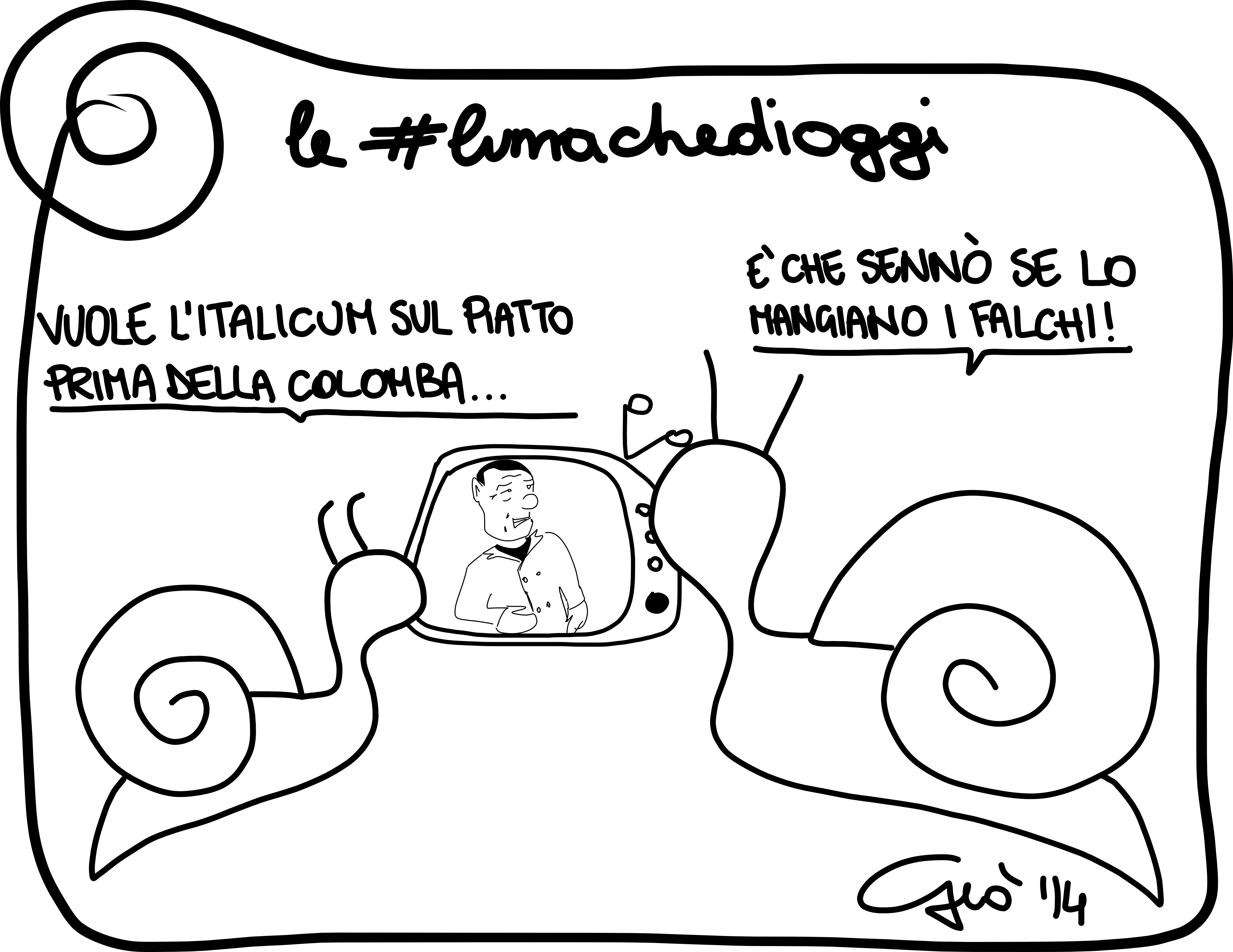 #lumachedioggi di Giovanni Laccetti del 8.4.2014