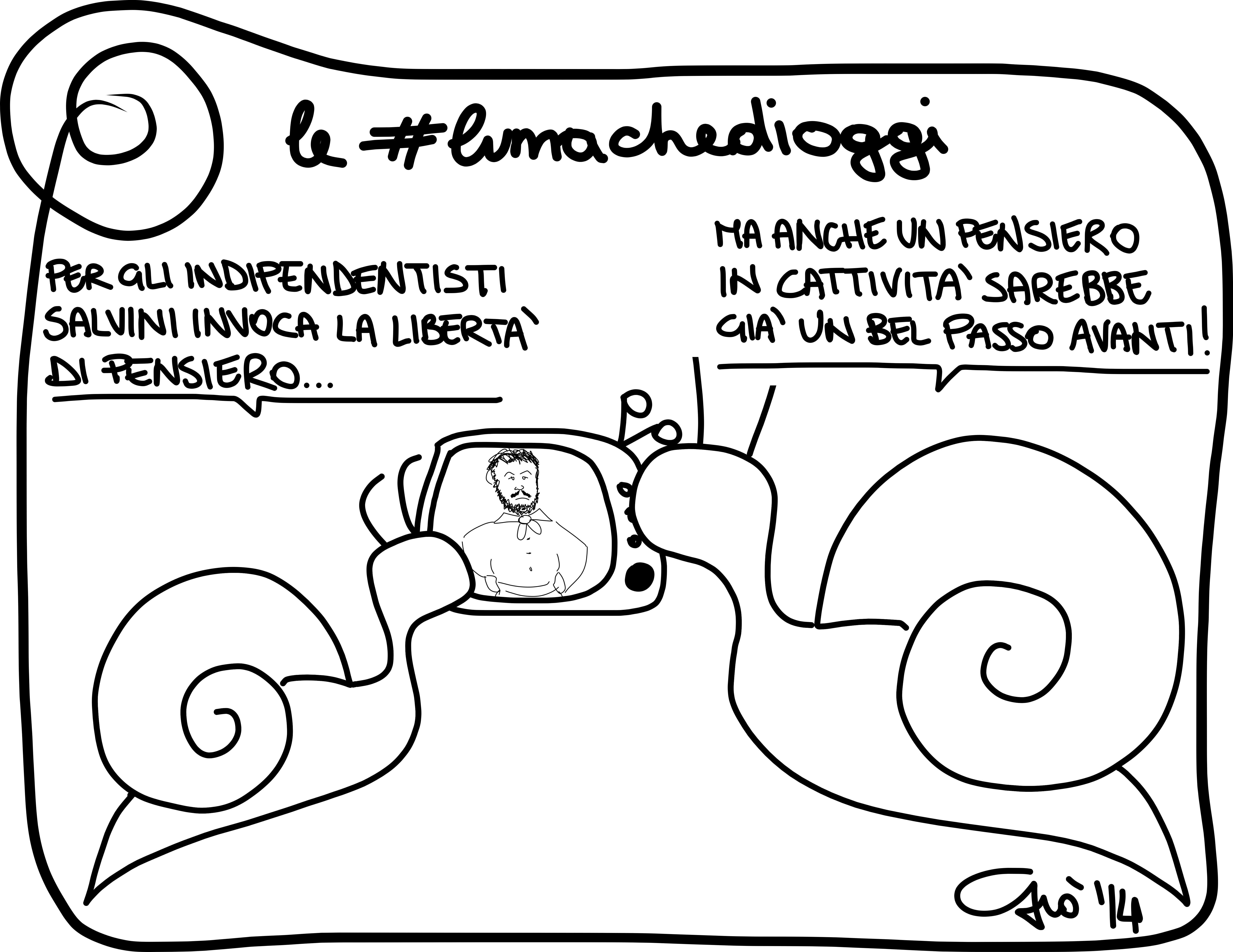 #lumachedioggi di Giovanni Laccetti del 7.4.2014