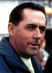 Jack Brabham ai tempi delle corse in Formula 1