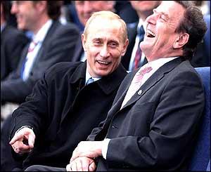 Putin Schroeder