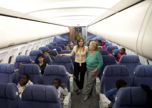 boschi bimbi congo aereo africa