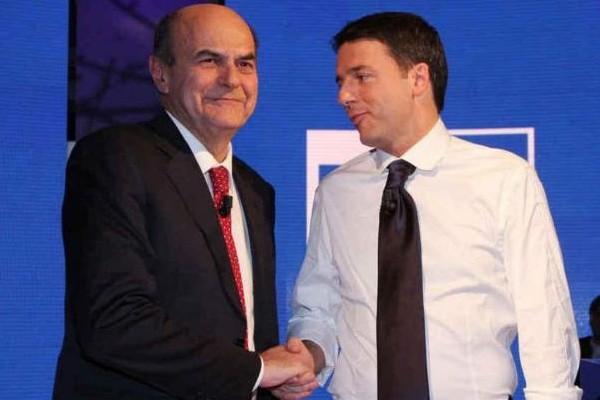 Pier Luigi Bersani Matteo Renzi PD