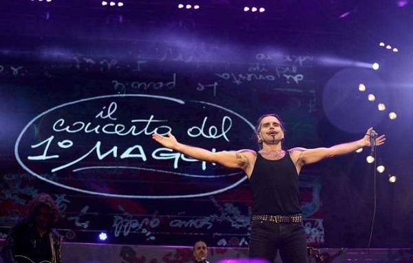 il concerto primo maggio roma pelu renzi
