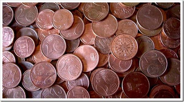monetine 1 e 2 cents