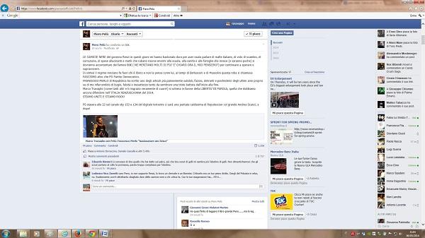 pelu renzi facebook